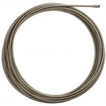 10mm x 15m Spiral Drain Cleaner Cable