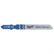 Milwaukee T118G 55mm x 0.7mm Traditional Jigsaw Blades