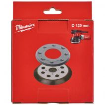 Milwaukee 125mm Base Plate with 8 holes (for ROS125)