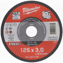 125mm x 3mm SC 41 PRO+ Metal Cutting Disc