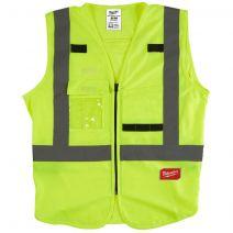 Milwaukee S/M Yellow Hi-Visibility Vest