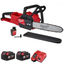 Milwaukee M18FCHSC-502 M18 FUEL Compact Chainsaw