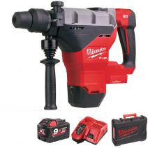 Milwaukee M18FHM-901C M18 One Key FUEL 8kg Class SDS-Max Drilling & Breaking Hammer