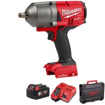 """M18ONEFHIWF12-501X M18 One Key FUEL High-Torque 1/2"""" Impact Wrench with Friction Ring"""