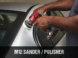 Milwaukee M12BPS cordless polisher
