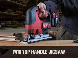 Milwaukee M18BJS cordless jigsaw